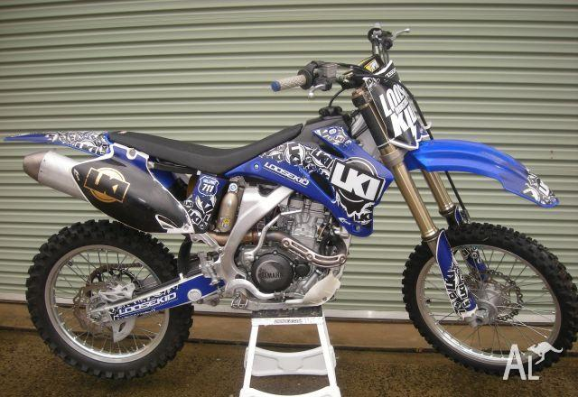 Yamaha yz250f y 2008 for sale in burleigh heads for Yamaha yz250f for sale