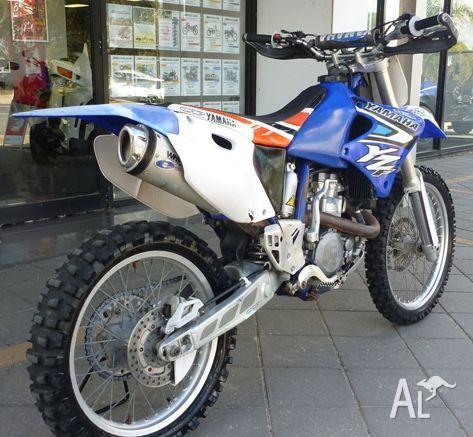 Yamaha yz400f 400cc 1998 for sale in murray bridge south for Yamaha 400cc motorcycle