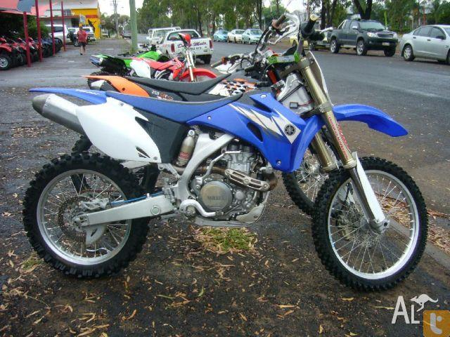 Yamaha yz450f 450cc w 2006 for sale in dalby queensland for Yamaha yz450f for sale