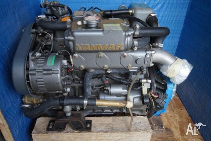 Yanmar 3JH4E Marine diesel with saildrive and 3kva