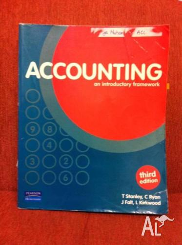 YEAR 11/12 ACCOUNTING TEXTBOOK **CURRENT EDITION**