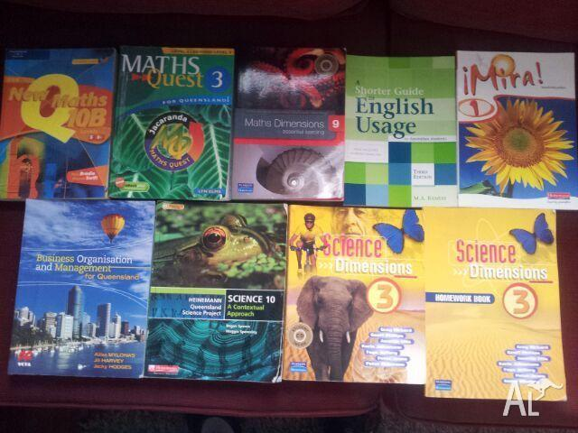 Year 9 and 10 textbooks