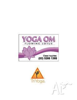 Yoga Om - Flowing Lotus