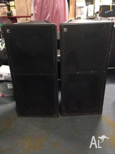 YORKVILLE SPEAKER SYSTEM AND AMPLIFIERS