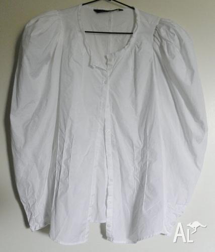 Women'S White Blouse Australia 104