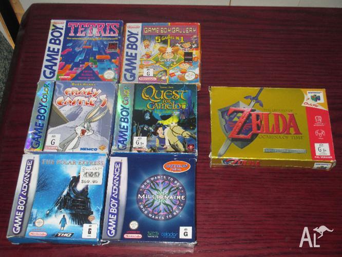 Zelda N64 + Gameboy games