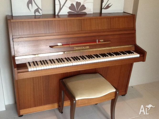 Zimmermann upright piano