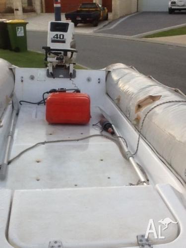 Zodiac RIB inflatable boat
