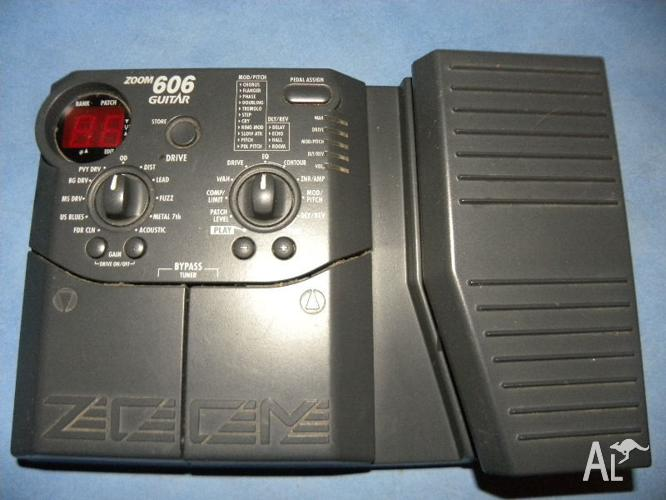 ZOOM-606 Multi-Effects Pedal