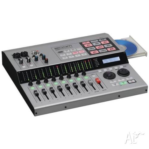 Zoom HD8 Hard Disk Recording Studio