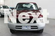 1997 Toyota Landcruiser Prado VZJ95R GXL Red Automatic