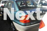 1998 Holden Astra TR City Green 5 Speed Manual Sedan