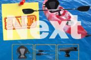 2.8M Deluxe Kayak Package - Deluxe seats - Ajustable