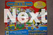 2 BIG Toddler- Puzzle (in excellent condition)