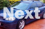 2002 Holden Astra Hatchback