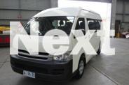 2008 Toyota Hiace TRH223R MY07 Upgrade Commuter White 4