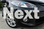 2009 Mazda 2 DE10Y1 Genki Black 5 Speed Manual