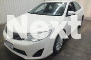 2012 Toyota Camry ASV50R Altise White 6 Speed Automatic