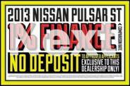 2013 Nissan Pulsar C12 ST Gold 1 Speed Constant