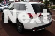 2015 Mitsubishi Outlander ZK MY16 LS 2WD White 6 Speed