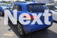 2017 Mitsubishi ASX XC MY17 LS 2WD Blue 6 Speed