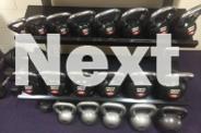 20kg Power Maxx Chrome / Rubber Kettle Bell