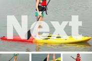 3.0M STAND UP PADDLE BOARD SURFBOARD SUP KAYAK PADDLE