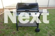 4 Burner Bistro BBQ with Heavy Duty Cover
