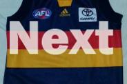 ADELAIDE CROWS YOUTH GUERNSEY-Sleeveless-NEW! SIZE: 10