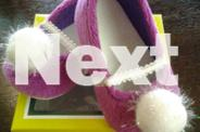 baby girl pre-walker shoes(Freddie the frog)purple,