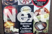 BBQ Kettle and cookbook