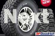BF GOODRICH TYRES AT THE BEST PRICES