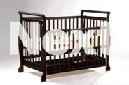 Brand New Pine Wooden Sleigh Baby Cot Crib Toddler Bed