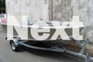 BRAND NEW STESSCO CATCHER SF449 BOAT, TRAILER, TOHATSU
