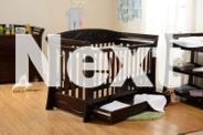 Brand New Wooden Baby Cot Mattress,3/4 Drawers CHANGE