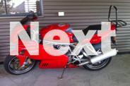 Bright Red Ducati,