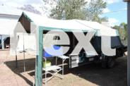 Campertrailer-lightweight with large toolbox and