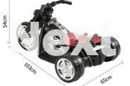 Childrens Ride on Motor Bike Triple Wheel Anti Slip