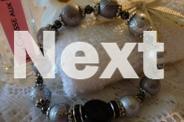 CLASSY BRACELET, GOOD BEADS BLACK ONYX & HEMATITE