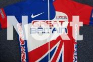 CYCLING SHIRT - GREAT BRITAIN TEAM SIZE M - 100%