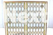Diamond Leadlight Window Fixed Window
