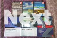 Final Cut Pro, Photoshop & After Effects DVD's