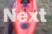 Fishing Kayak With Deluxe Padded Seat & Paddle