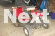 FOR SALE SEAT ON MOWER FOR SPARE PART'S