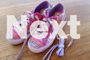 Girls Sketchers Twinkle Toes shoes Size US 3 UK 2