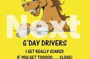 HORSE TALK FLOAT SIGNS - specially for Horse Floats!!