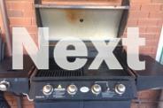 Large 4 Burner BBQ