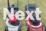 Lawnmowers Victa 2 stroke and Flymo 4 stroke