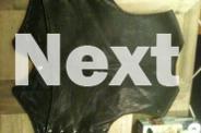 leather vest size XL