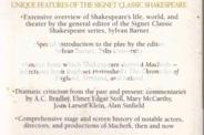 MACBETH-SIGNET CLASSIC EDITION VGC CLEAN COPY COLLECT